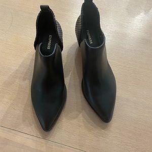 Express black shoes